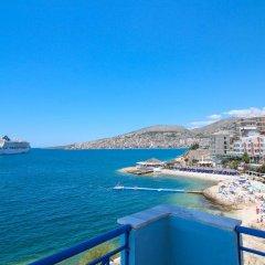 Hotel Blue Bay Саранда пляж фото 2