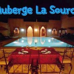 Отель Auberge La Source Марокко, Мерзуга - отзывы, цены и фото номеров - забронировать отель Auberge La Source онлайн бассейн фото 2