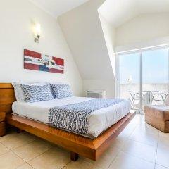Отель Apartamentos do Mar Peniche Улучшенная студия с различными типами кроватей фото 3