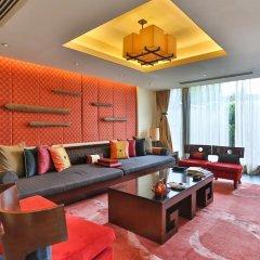 Отель Banyan Tree Lijiang 5* Вилла разные типы кроватей фото 9
