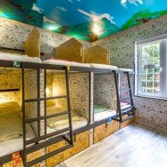 Chillout Hostel Zagreb Кровать в общем номере с двухъярусной кроватью фото 11