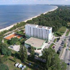 Отель Novotel Gdansk Marina Польша, Гданьск - 1 отзыв об отеле, цены и фото номеров - забронировать отель Novotel Gdansk Marina онлайн пляж фото 2
