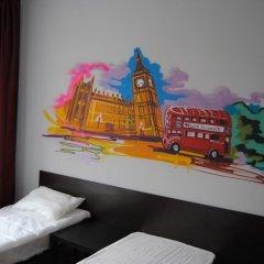 Хостел Европа Номер с общей ванной комнатой с различными типами кроватей (общая ванная комната) фото 12