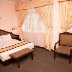 Отель Golf 1 2* Семейный номер Делюкс с различными типами кроватей