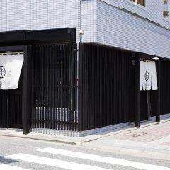 Hakata Gofukumachi Hostel Takataniya Фукуока парковка