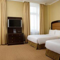 Гостиница Hilton Москва Ленинградская 5* Номер Делюкс с 2 отдельными кроватями фото 5
