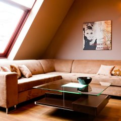 Отель EXCLUSIVE Aparthotel Улучшенные апартаменты с различными типами кроватей фото 36