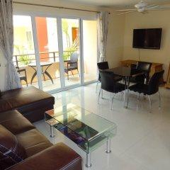 Апартаменты Rm Wiwat Apartment Люкс с различными типами кроватей фото 5