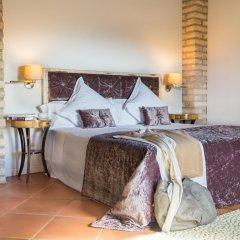 Отель La Garriga de Castelladral 4* Улучшенный номер с различными типами кроватей фото 6