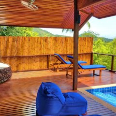 Отель The Place Luxury Boutique Villas Таиланд, Остров Тау - отзывы, цены и фото номеров - забронировать отель The Place Luxury Boutique Villas онлайн бассейн