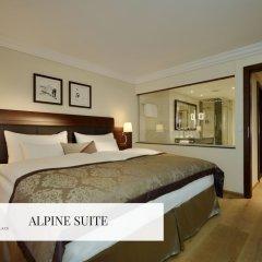Отель Mont Cervin Palace 5* Люкс с различными типами кроватей фото 6