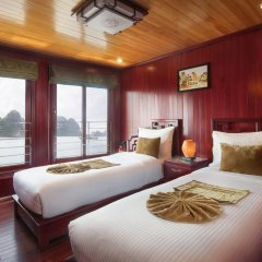 Отель Halong Royal Palace Cruise 3* Стандартный номер с различными типами кроватей фото 3