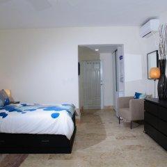 Отель Gusto Tropical Dependance Доминикана, Бока Чика - отзывы, цены и фото номеров - забронировать отель Gusto Tropical Dependance онлайн комната для гостей фото 5