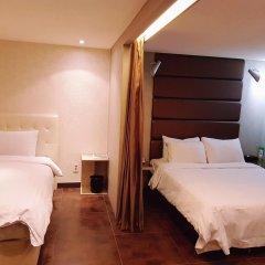 The California Hotel Seoul Seocho 2* Номер Делюкс с 2 отдельными кроватями фото 3