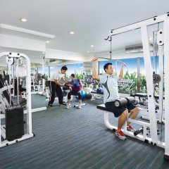 Отель Centre Point Pratunam фитнесс-зал фото 2