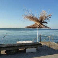 Hotel Ahilea пляж