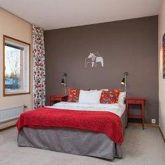 Отель Hotell Fridhemsgatan 3* Стандартный семейный номер с различными типами кроватей фото 11