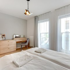Апартаменты Apartinfo Chmielna Park Apartments Улучшенные апартаменты с различными типами кроватей фото 11