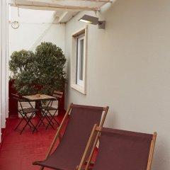 Отель Casa das Aguarelas - Apartamentos балкон