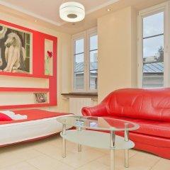 Отель Goodnight Warsaw 3* Студия с различными типами кроватей фото 23