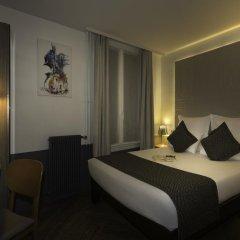 Отель Contact ALIZE MONTMARTRE 3* Улучшенный номер с двуспальной кроватью фото 4