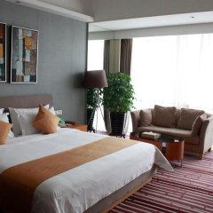 Huaqiang Plaza Hotel Shenzhen 4* Представительский номер с различными типами кроватей фото 3