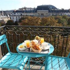 Отель Little Palace Hotel Франция, Париж - 7 отзывов об отеле, цены и фото номеров - забронировать отель Little Palace Hotel онлайн балкон