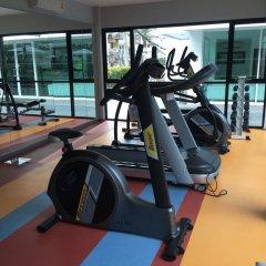 Отель Lotus-Bar фитнесс-зал фото 2