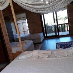 Отель Cirali Flora Pension 3* Стандартный семейный номер с двуспальной кроватью фото 19