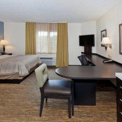 Отель Candlewood Suites Jersey City - Harborside Люкс с различными типами кроватей фото 4