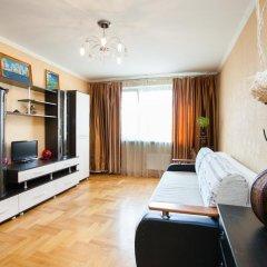 Апартаменты Брусника Митино Апартаменты с разными типами кроватей фото 19