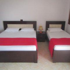 Отель Villa Ideal Албания, Ксамил - отзывы, цены и фото номеров - забронировать отель Villa Ideal онлайн комната для гостей фото 4