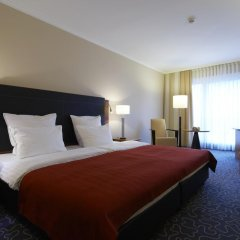 Steigenberger Hotel Hamburg 5* Стандартный номер двуспальная кровать фото 2