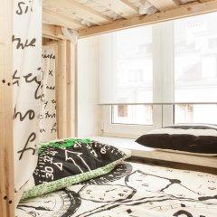 Хостел Академ Сити Кровать в мужском общем номере с двухъярусной кроватью фото 11