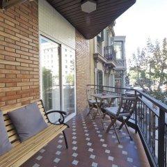 Отель Chic Aribau Барселона балкон