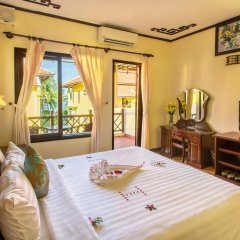 Отель Agribank Hoi An Beach Resort 3* Номер Делюкс с различными типами кроватей фото 13