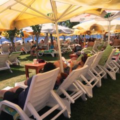 Отель Mali Beach Apart Otel пляж фото 2