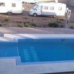 Отель Kasbah Tamariste Марокко, Мерзуга - отзывы, цены и фото номеров - забронировать отель Kasbah Tamariste онлайн бассейн