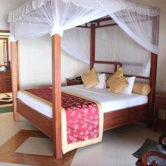 Отель Warahena Beach Hotel Шри-Ланка, Бентота - отзывы, цены и фото номеров - забронировать отель Warahena Beach Hotel онлайн комната для гостей фото 3