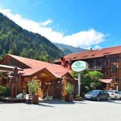 Отель Inan Kardesler Bungalow Motel парковка