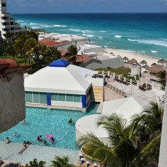 Отель Solymar Cancun Beach Resort 3* Студия Делюкс с различными типами кроватей