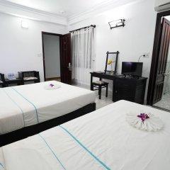 Sunset Hoi An Hotel 2* Стандартный семейный номер с двуспальной кроватью