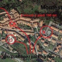 Отель La Vite In Castello Монтескудаио спортивное сооружение