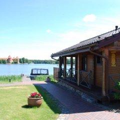 Отель Viva Trakai Литва, Тракай - отзывы, цены и фото номеров - забронировать отель Viva Trakai онлайн приотельная территория