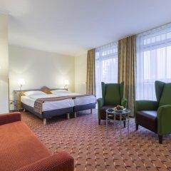 Отель Park Inn by Radisson Munich Frankfurter Ring 3* Стандартный номер разные типы кроватей фото 4