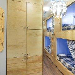 Хостел InDaHouse Кровать в мужском общем номере фото 10