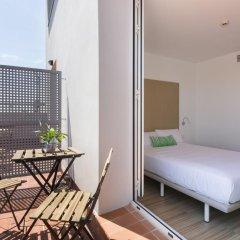 Отель SmartRoom Barcelona балкон