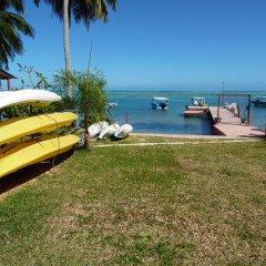 Отель Tapu Lodge пляж