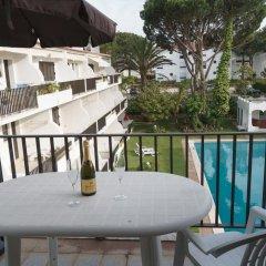 Отель Akisol Vilamoura Emerald II Португалия, Виламура - отзывы, цены и фото номеров - забронировать отель Akisol Vilamoura Emerald II онлайн балкон