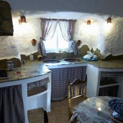 Отель Complejo de Cuevas Almugara Апартаменты разные типы кроватей фото 4